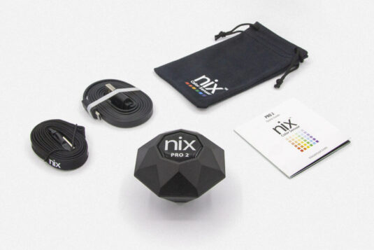 Nix Pro 2 Color Sensor - what's included