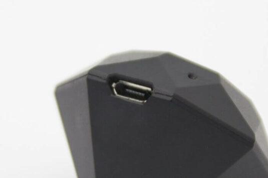 The Nix Mini charging port is shown