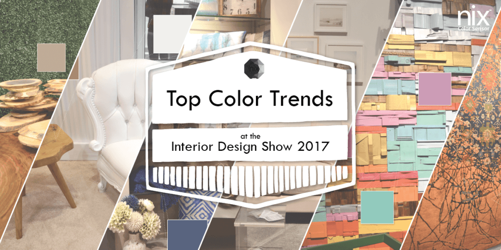 Top Color Trends at the Interior Design Show 2017