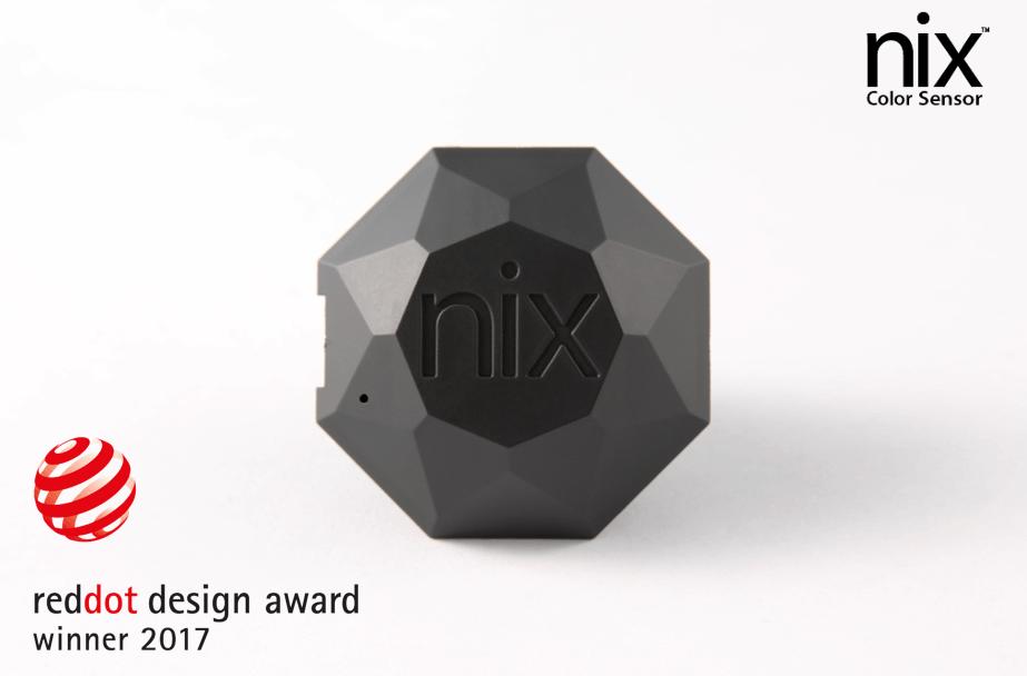 Nix Pro Color Sensor selected as Red Dot Winner
