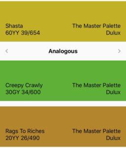Shasta Color Scheme