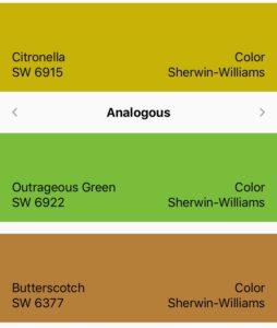 Citronelle color scheme