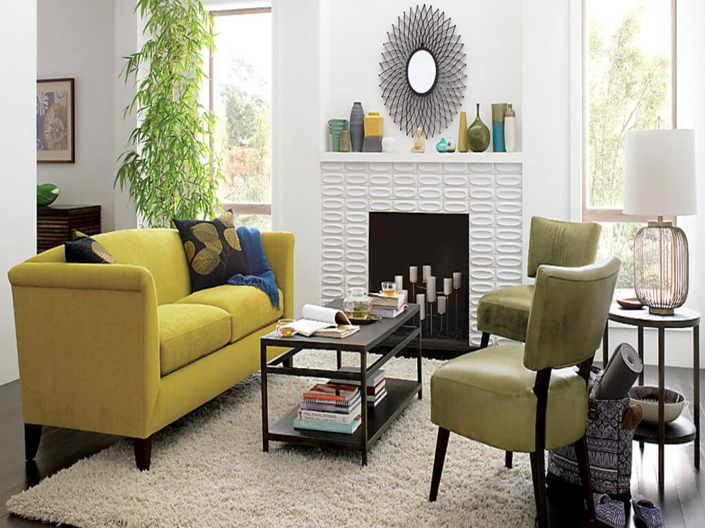 awesome-small-white-living-room-interior-design-ideas-with-yellow