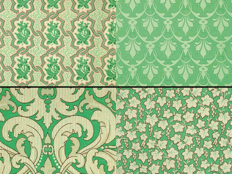 Arsenic wallpaper