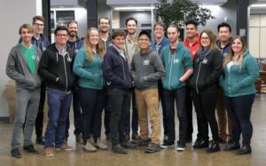Team photo beginning of 2018