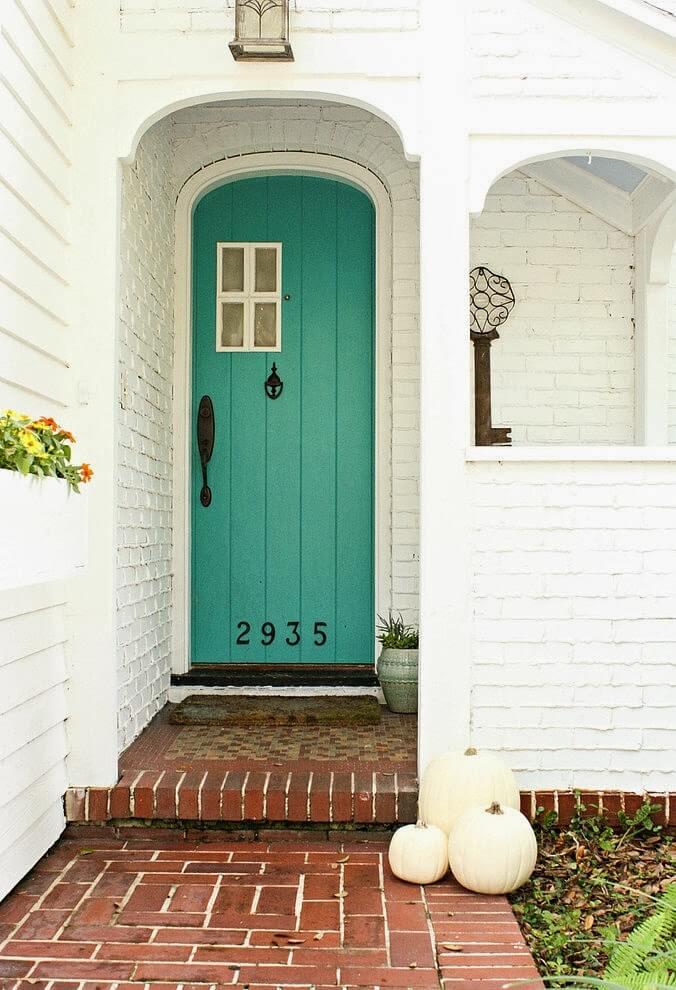 Home reno inspiration - green door