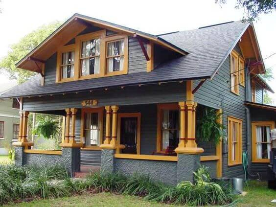 Arts and Crafts style home - home reno ideas