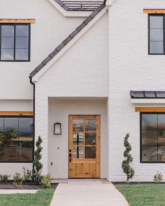 Home renovation idea - painted exterior