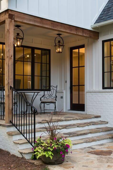 Home Reno Idea - bold window frames
