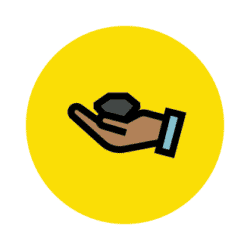 holding sensor icon