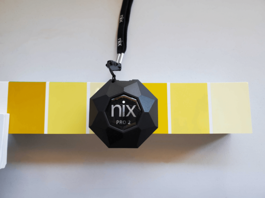 nix color scanner with paint chip