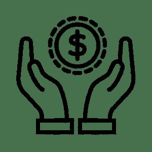 cost efficiency icon